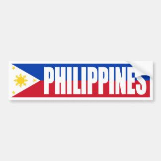 Drapeau de Philippines Autocollant De Voiture