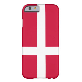 Drapeau du Danemark Coque iPhone 6 Barely There