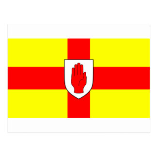 Drapeau d'Ulster - l'Irlande du Nord Carte Postale