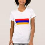 Drapeau national de l'Arménie T-shirts