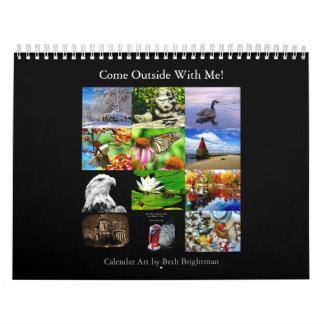 Draußen mit mir kommen Kalender