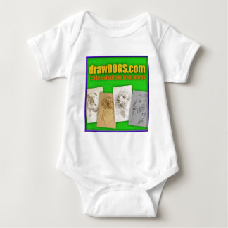 DrawDOGS.com 125 Zucht gezeichnet von den Wörtern Baby Strampler