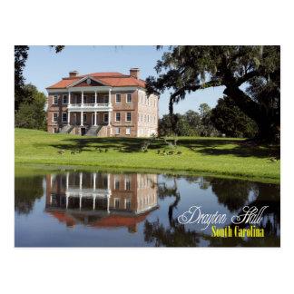 Drayton Hall, South Carolina Postkarte