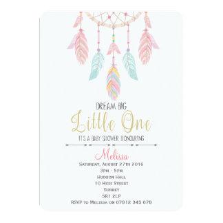 Dreamcatcher Boho Babyparty-Einladung 12,7 X 17,8 Cm Einladungskarte