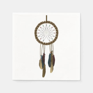 Dreamcatcher Papierservietten