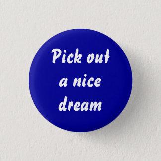 dreamweaver runder button 2,5 cm