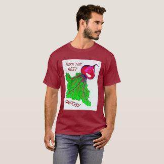 Drehen Sie die rote Rübe um Shirt
