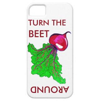 Drehen Sie die rote Rübe um Telefon-Kasten Hülle Fürs iPhone 5