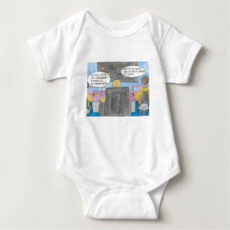 Drehen Sie herum Auftrag Baby Strampler