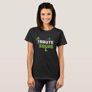 Drehen Sie Reinfall-rohes Gruppe-T-Shirt um T-Shirt