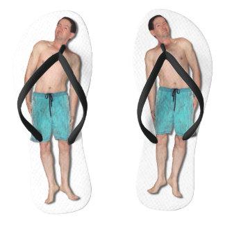 Drehen Sie Reinfälle mit kleinem Typ um Flip Flops