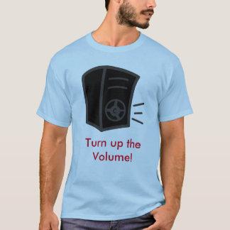 Drehen Sie sich herauf das Volumen-Shirt T-Shirt