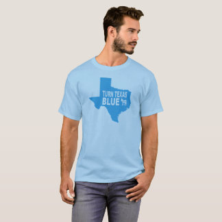 Drehen Sie Texas, das blauer T - Shirt | Amerika