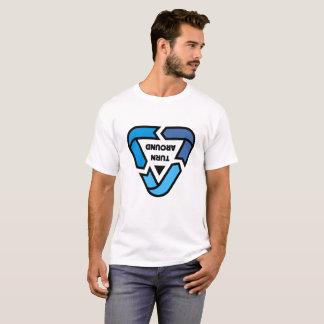 """""""DREHEN Sie"""" Umweltschutz-T-Stück HERUM recyceln T-Shirt"""