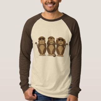 Drei Affen T-shirts