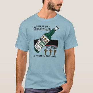 Drei Dolch-Rum T-Shirt