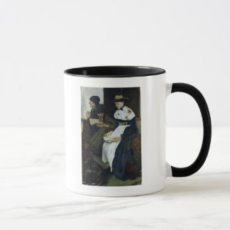 Drei Frauen in Kirche, 1882 Tasse