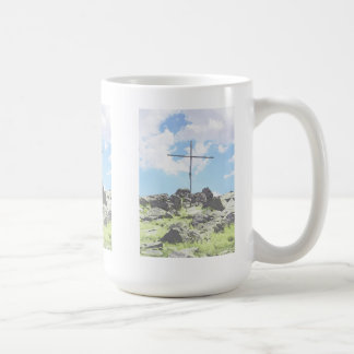 Drei Gipfel-Kreuze Kaffeetasse