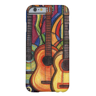 Drei Gitarren Barely There iPhone 6 Hülle