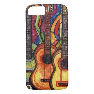 Drei Gitarren iPhone 8/7 Hülle