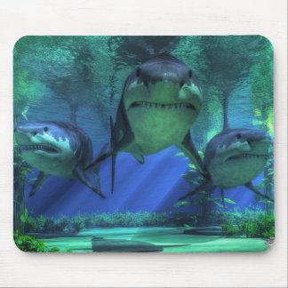 Drei Haifische Mauspads