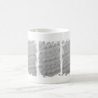 Drei Kasten-Schmutz-Entwurf Tasse