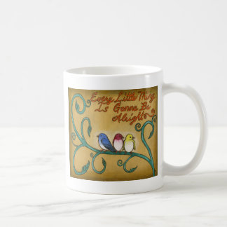 Drei kleine Vögel Kaffeetasse