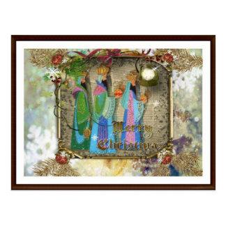 Drei Könige Of Orient Christmas Postcard Postkarte