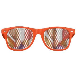 drei Köpfe Retro Sonnenbrillen