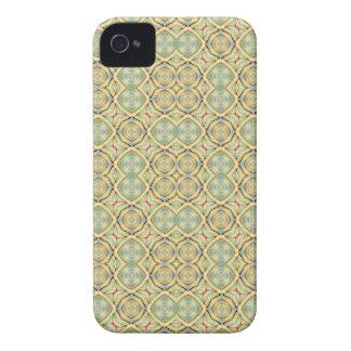 Drei Kreis-abstrakter geometrischer Designer iPhone 4 Cover