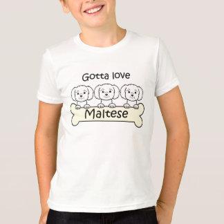 Drei maltesisch T-Shirt