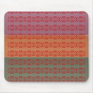 Drei Metallendfarbstreifen - bbb Muster Mauspads