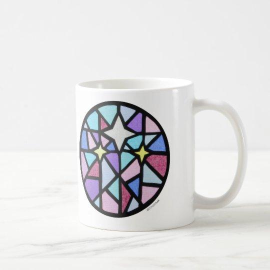 drei Sterne Tasse