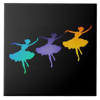 Drei Tänzer Fliese