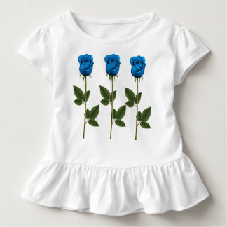Drei Veilchen, Toddle Rüsche T Kleinkind T-shirt