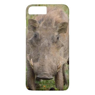 Drei Warthog Ferkel säugen auf ihrer Mutter iPhone 8 Plus/7 Plus Hülle