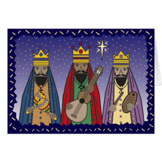 drei weise Männer Karte