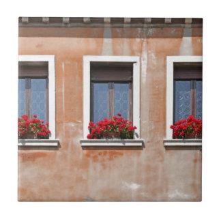 Drei Windows in Venedig Keramikfliese