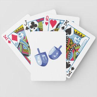 Dreidels Bicycle Spielkarten