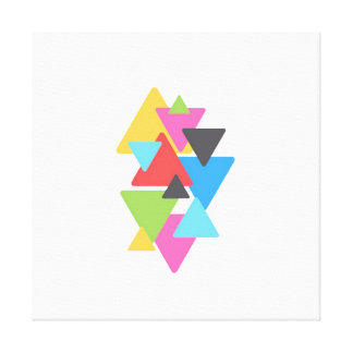 Dreieck-Deko-Leinwand Leinwanddruck