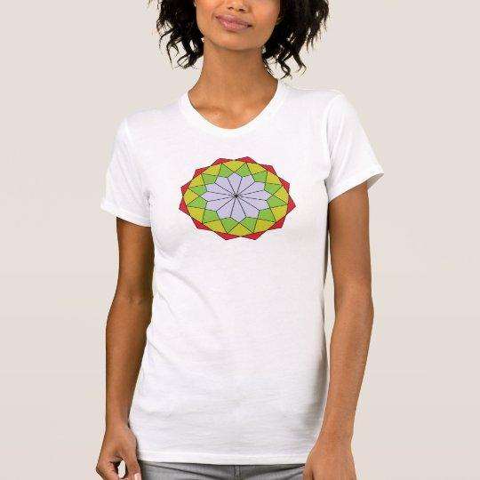 Dreieck-Drehbeschleunigung T-Shirt