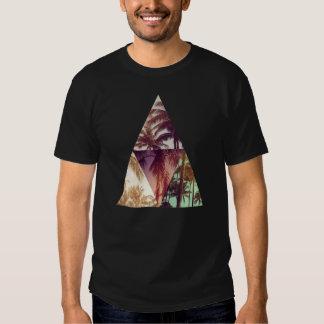 Dreieck-Hipsterpalmen-Paradies-T - Shirt