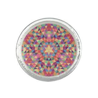Dreieck-Mandala 1 Ringe