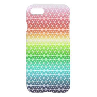 Dreieck-Regenbogen-geometrischer iPhone 7 Hülle