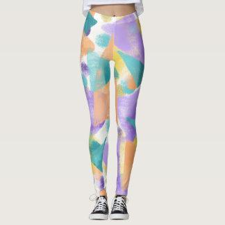 Dreieck-reichlich Pastell Leggings