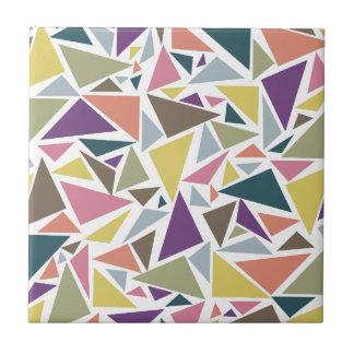 Dreieck-Streuung Kleine Quadratische Fliese