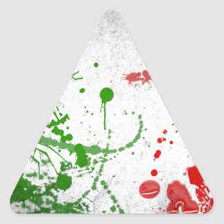 Dreiecks-Aufkleber