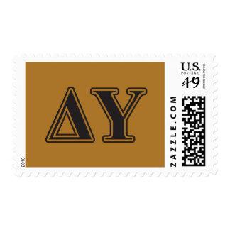 DreiecksUpsilon gotische Schriften Briefmarken