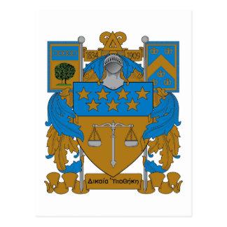 DreiecksUpsilon Wappen Postkarte