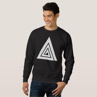 Dreiergruppe - ein schwarzes Sweatshirt